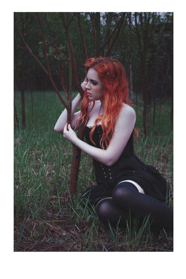 цветные волосы на рыжие волосы