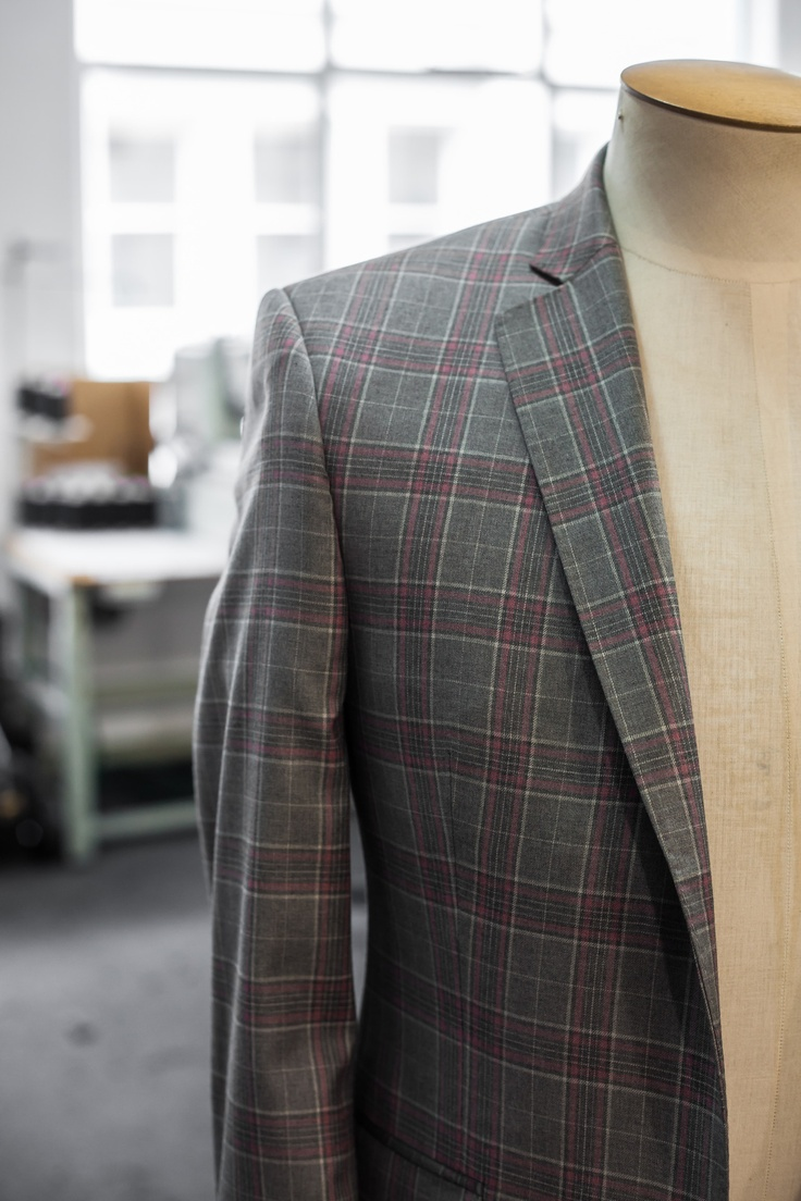 Scabal 'Mosaic' Prince of Wales check