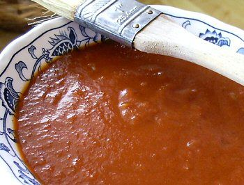 Linda's Low Carb: Smoky BBQ Sauce ~ I've been making this yummy low carb bbq sauce for years and LOVE it.  Tastes better than store-bought.  The addition of xanthan gum is new...never use it, just cook down until the sauce is thick.  I do use the bit of molasses as it is WELL worth the flavor and doesn't seem to cause me any problems.  TRY IT!!!