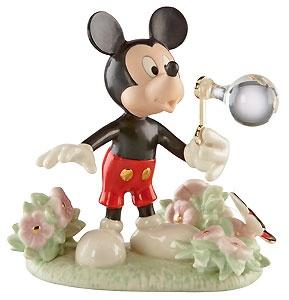 Mickey Mouse - Mickey's Backyard Bubbles - Lenox - Classics Lenox - World-Wide-Art.com - $64.00