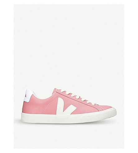 VEJA | Esplar leather sneakers #Shoes #Sneakers #Lace up #VEJA