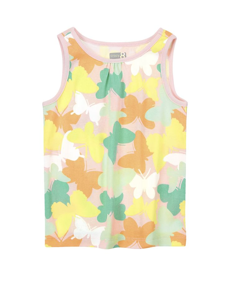 Butterfly Camo Tank at Crazy 8 2,39