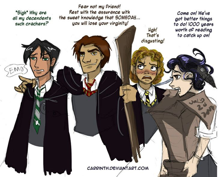 Hogwarts house dating compatibility