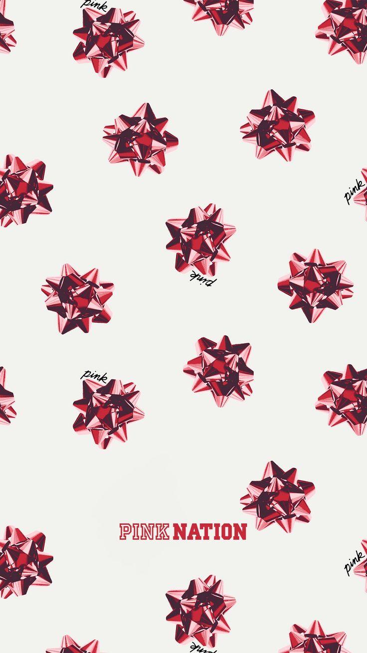 VS Pink holiday season 2017 wallpaper