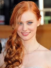 Christine Howell, education manager for Zotos, supplied these formulas for True Blood star Deborah Ann Woll's steamy redhead look using Zotos AGEbeautiful anti-aging haircolor:  1. On natural level 6 hair, apply  ½ 8RC + ½ 9G and 20-volume developer at the scalp and use 30-volume developer for the midshaft and ends. 2. On natural level 7 hair, apply  ½ 8RC + ½ 9G and 10-volume developer at scalp and 20-volume developer on midshaft and ends.