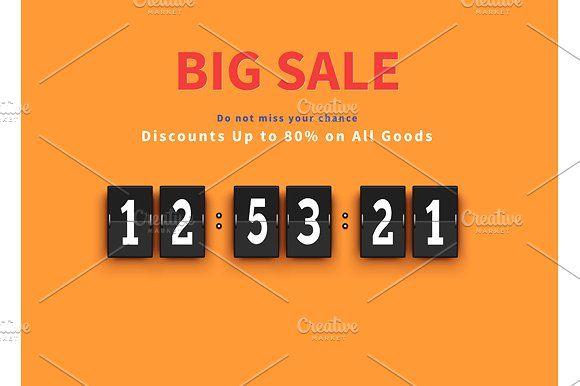 Opening Soon. Big Sale Countdown #discount#big#huge#savings