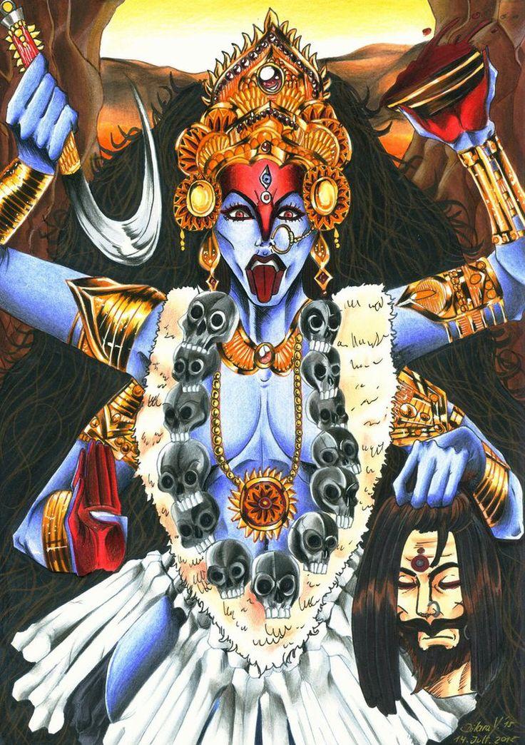 Hindu Mythology - Goddess Kali by Shiranui94 on DeviantArt