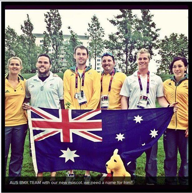 Enjoying the Winter Olympics? Did you know that Pod Legal once named the Australian BMX Team Olympic Mascot 'Banga' (BMX-Kanga). #olympics #podlegal