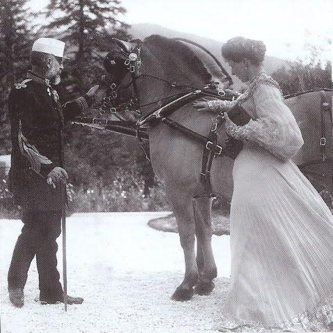 Princess Marie with King Carol of Romania