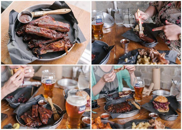 The dry rub ribs from Smoque N' Bones in Toronto - http://foodiesinked.com/restaurants/smoque-bones-bbq-toronto/