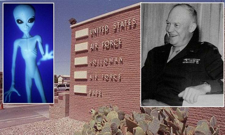 President Eisenhower had three secret meetings with aliens, former Pentagon consultant claims