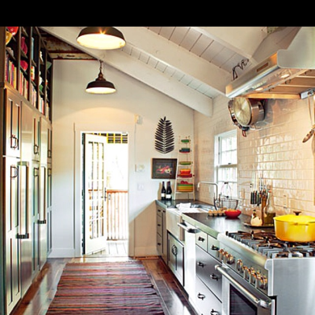 17 best images about kitchens on pinterest galley for Small corridor kitchen design ideas