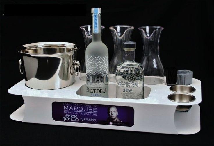 NightclubShop.com - BOTTLE SERVICE SERVING TRAY(Name Changer), $265.99 (http://www.nightclubshop.com/bottle-service-serving-tray-name-changer/)