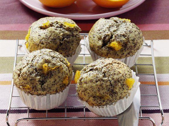 Mohn-Muffins mit Orange |