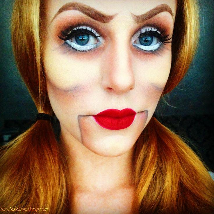 Nicola Kate Makeup: Ventriloquist Dummy