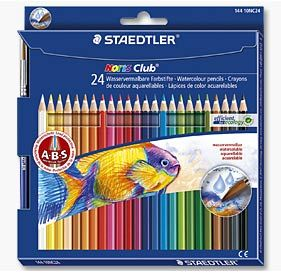 Staedtler Noris Club Watersoluble Colour Pencils