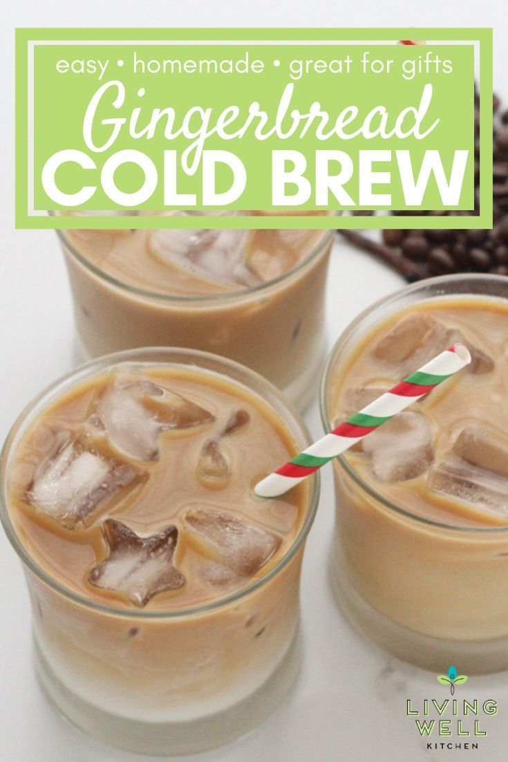 Gingerbread cold brew coffee in 2020 cold brew coffee