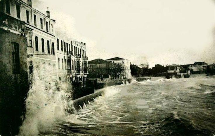 Eski İstanbul: Yeşilköy'de Lodos