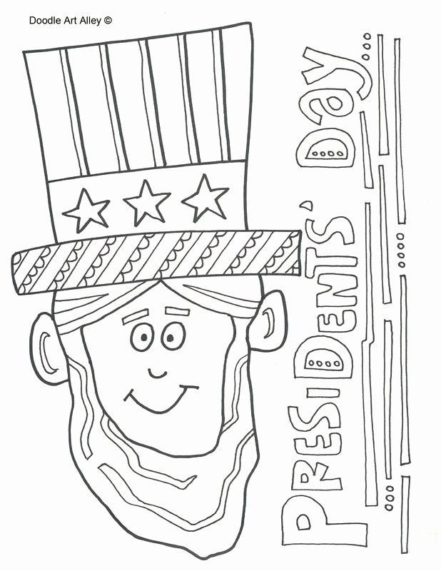 Presidents Day Coloring Page Elegant Presidents Day Coloring Pages Doodle Art Alley In 2020 Coloring Pages Shark Coloring Pages Bear Coloring Pages