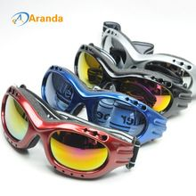 US $6.52 snow ski goggles 4 colors sunglasses windproof cool goggle antiparras motocross lunette de ski homme gafas snowboard gafas. Aliexpress product