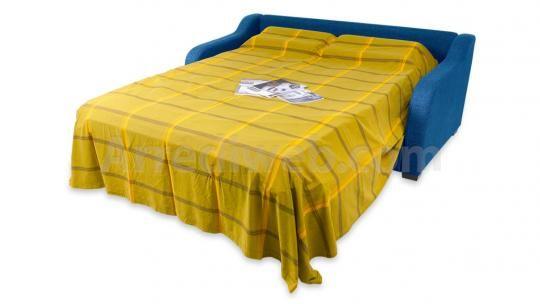 MOD. 170 Divano letto - cuscini decorativi di serie (la foto è esemplificativa del modello)