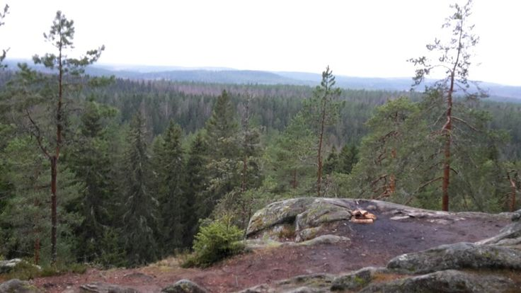Top of the Great Neulamäki hill Kuopio