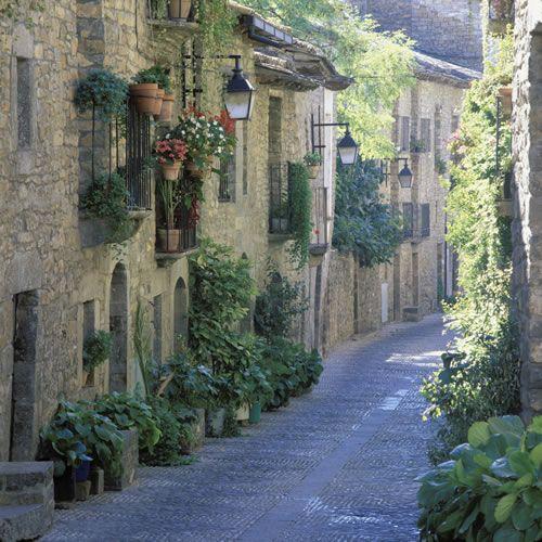 Spain. Aragón. Huesca. Aínsa. Fotografía de Ricardo Vila