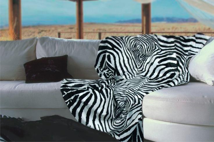 CARMA imitation fur Zebra