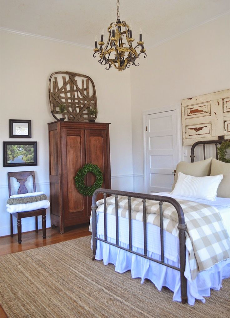 Bedding from ikea & target.little white house blog: Spare Bedroom Makeover