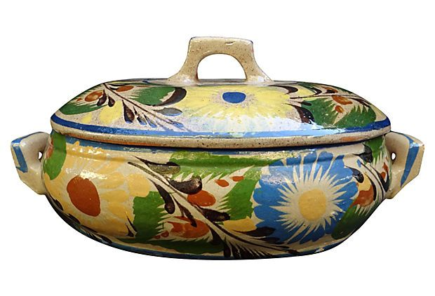 1910-1950 Mexican Tureen from Mexico