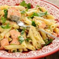 Pasta Met Kip, Spinazie, Champignons En Boursin recept | Smulweb.nl