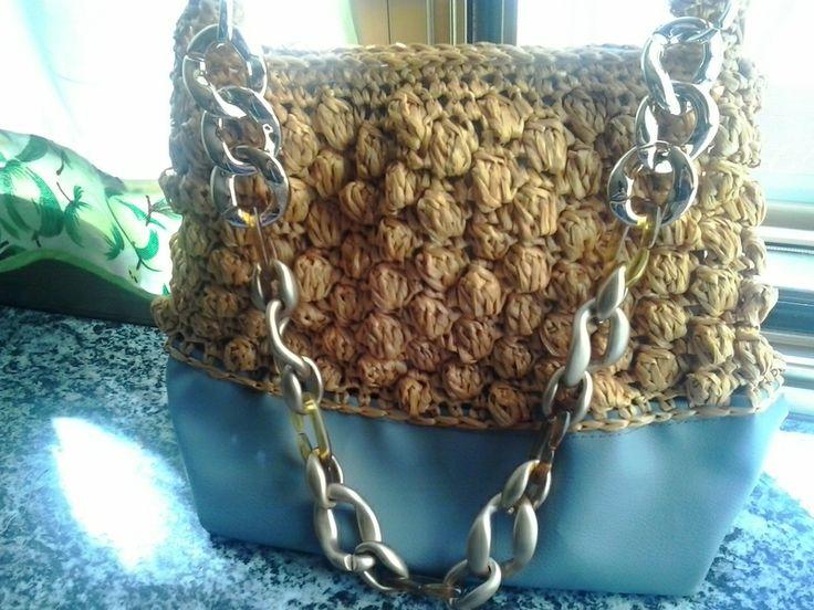 borsa in rafia di borse e accessori moda su DaWanda.com