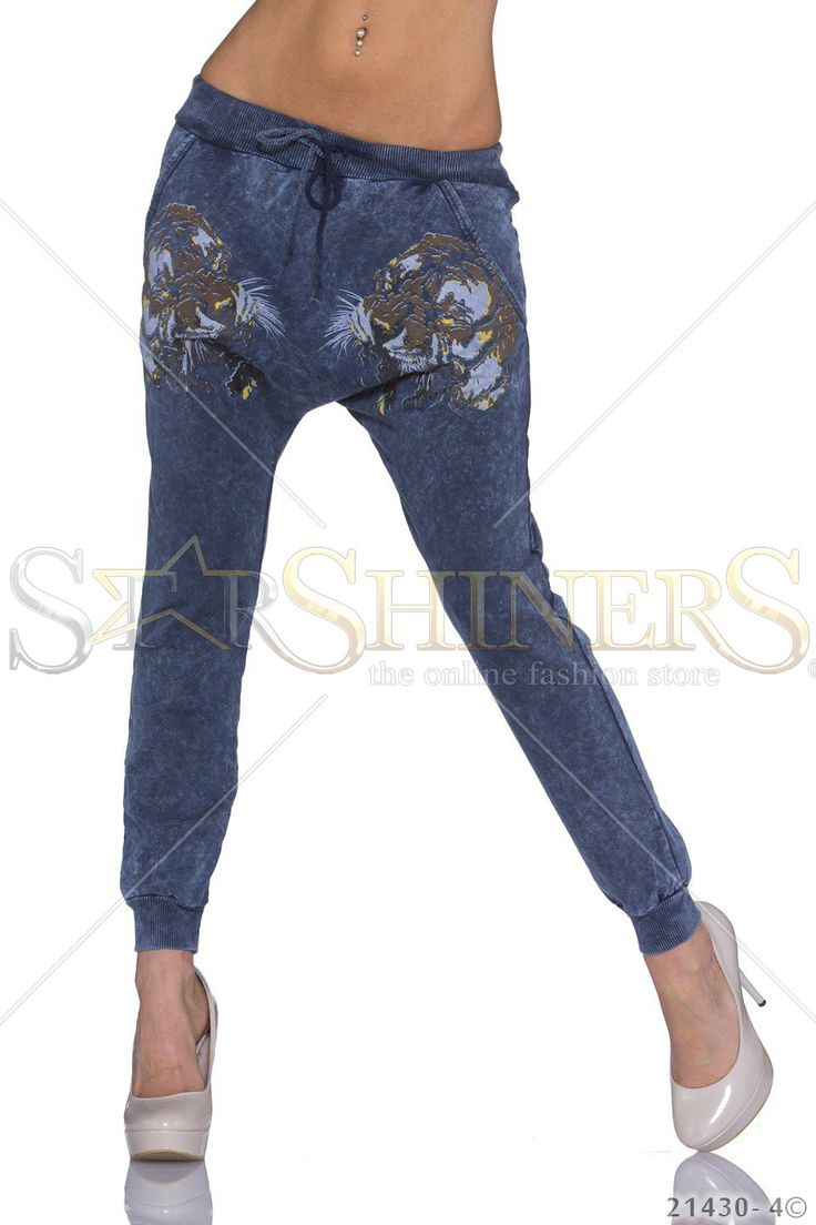 Vibrant Beauty DarkBlue Trousers