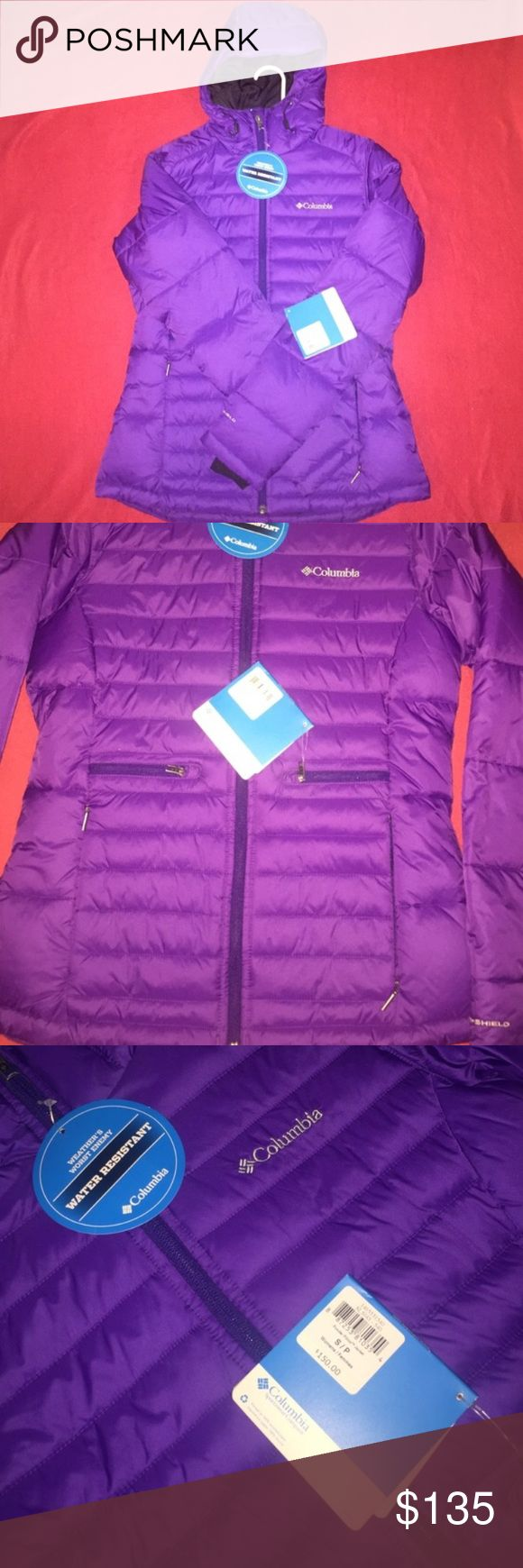 Columbia coat Purple size small light weight Columbia coat Columbia Jackets & Coats