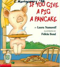 If You Give A Pig A Pancake book and activities from The Virtual Vine