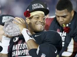 Just look at pics of fsu or especiall jamis #5 this is what i do alot national champions 2013