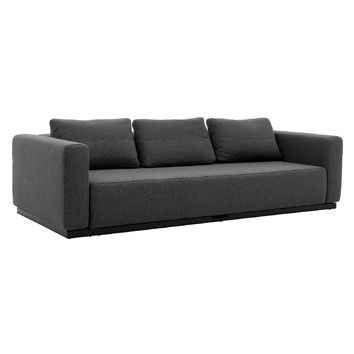 Leather Sofas Softline Colorado Seater Convertible Sofa Bed