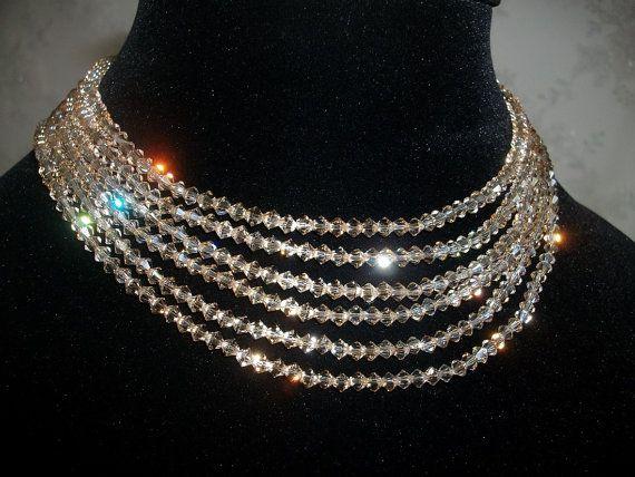 Bridal Necklace Set Wedding Jewelry For Brides by DesignByIrenne