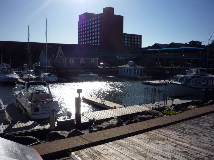 Charlottetown port - to do list for the food, the gift shops and most of all : the view