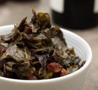 Easy Collard Greens with Bacon Recipe   Daily Unadventures in Cooking