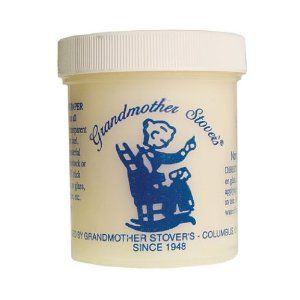 Dollhouse Grandmother Stover's Glue by Handley House. $6.59. Also known as Yes Glue, this bookbinder's glue is great for applying wallpaper, carpets and floors. Non-acidic. 6 ounce tub.