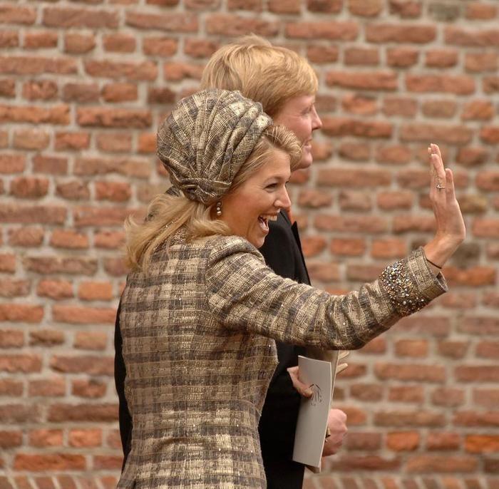 Máxima & bruiloften: kerkelijk huwelijk Floris en Aimée | ModekoninginMaxima.nl
