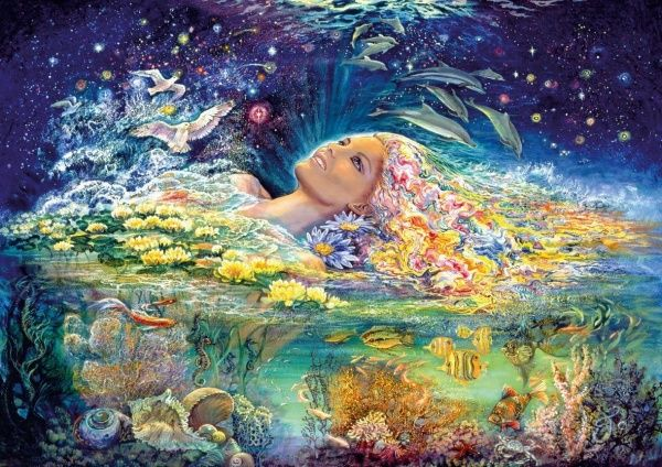 Contemporary art Josephine Wall (315 photos)