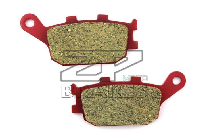 Motorcycle parts Ceramic Brake Pads Fit HONDA CBF 600 SA4/SA5/SA6/SA7 (ABS) 2004-2008 Rear OEM New Red Composite Free shipping #Affiliate