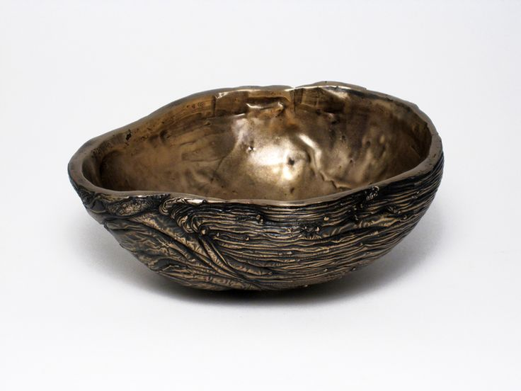 Perfect Bowl. Ice Cast Bronze By Steven Haulenbeek. Tabletop AccessoriesSustainable  ...