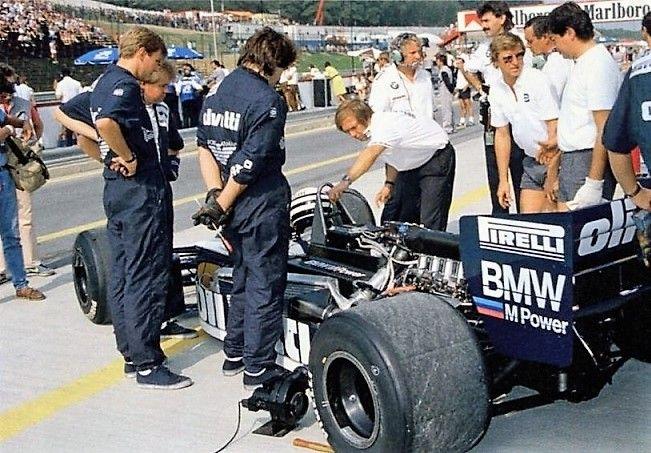 Brabham BT55 / BMW - Riccardo Patrese au Grand Prix d'Autriche à Zeltweg, 1986 - Automobilsport N°8 2016.