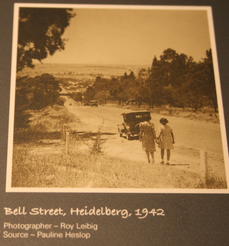 Bell Street Heidelberg Melbourne Australia... Melbourne Museum Collection.