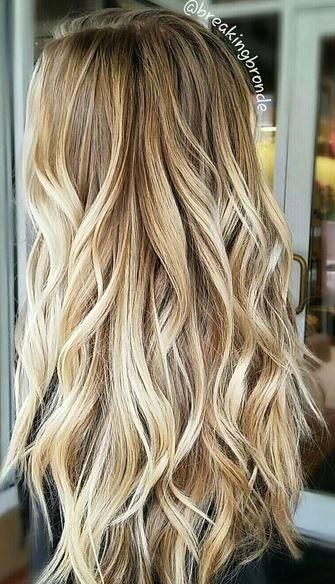 blonde honey color melt
