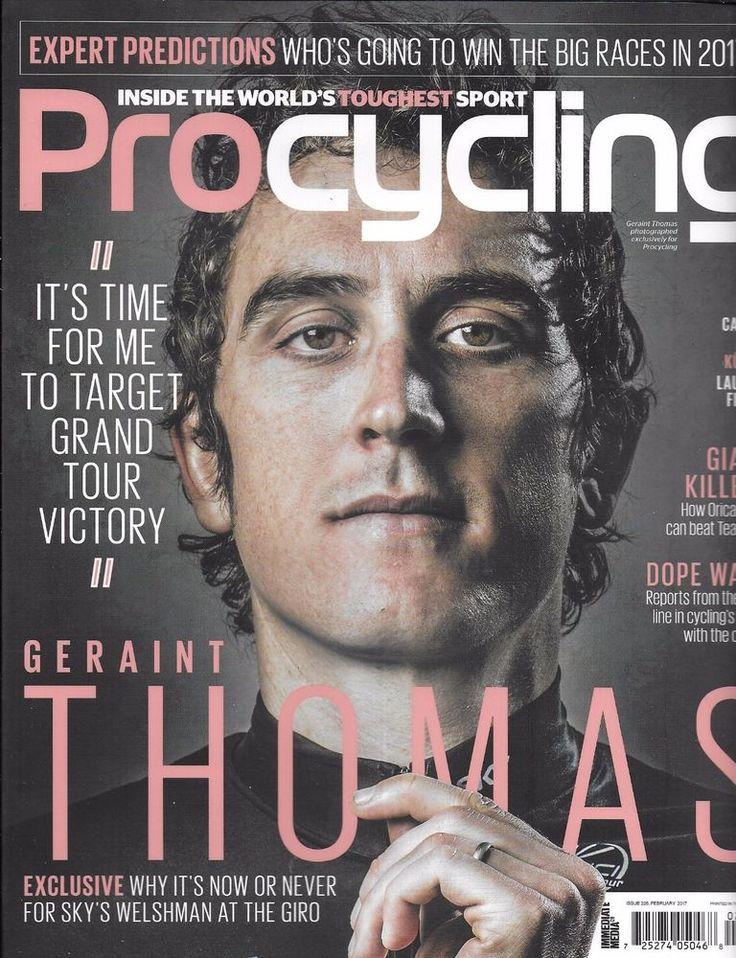 Pro Cycling bike magazine Geraint Thomas Dope wars Team Sky Hugh Carthy Guide