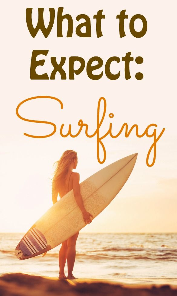 Thinking about trying a surfing lesson? Here are a few things you're likely to experience the first time you surf.